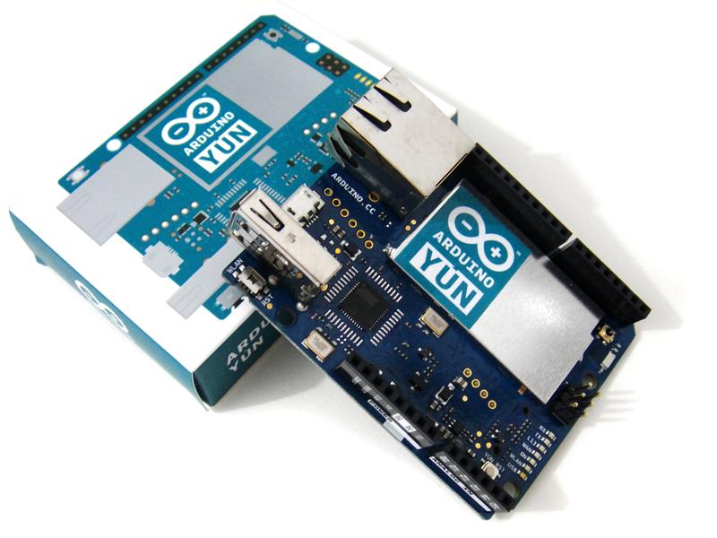 Arduino yÚn robodyne