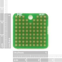 "ProtoBoard - Square 1"" Single Sided"