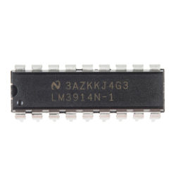 Dot/Bar Display Driver - LM3914 (Linear)