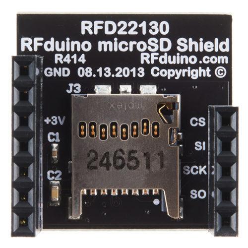RFduino - MicroSD Shield