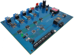 Proportional valve solenoid controller board